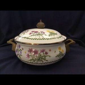 Vintage Lincoware Pot Saucepan Lid Wildflower